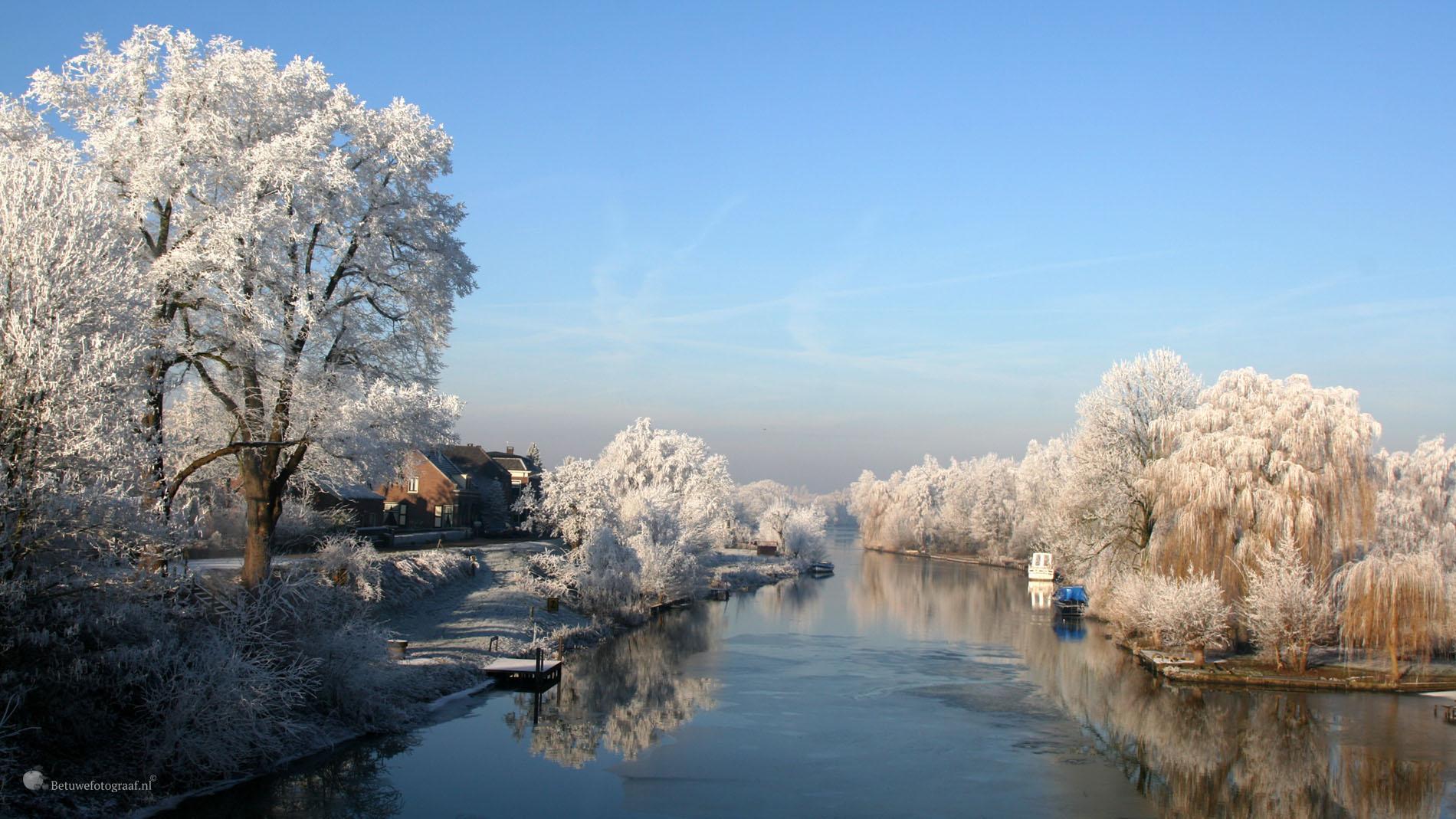 Fruitpark winter brug